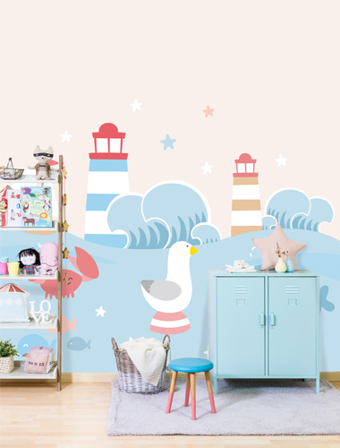 papel pintado infantil mr wonderful primera avenida