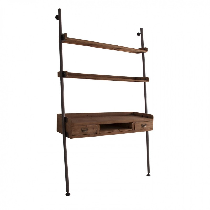 22717 librer a estanter a escalera industrial vintage 122 for Escaleras libreria