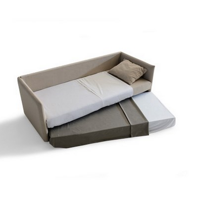 Sof cama nido two 205 disponible en multitud de tapizados for Dimensiones cama nido