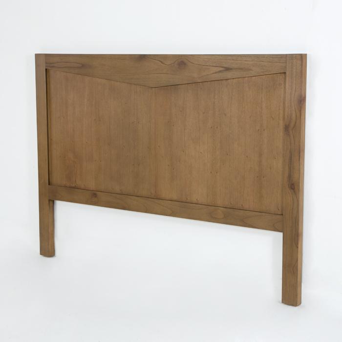 Cabecero de cama de dise o en madera primera avenida - Cabeceros de cama de madera ...