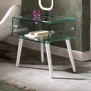 Mesas auxiliares diseño moderno y nórdico