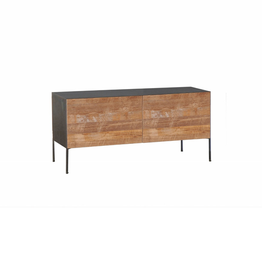 0714 futv112t mueble de tv fusion de dise o industrial for Muebles de diseno industrial